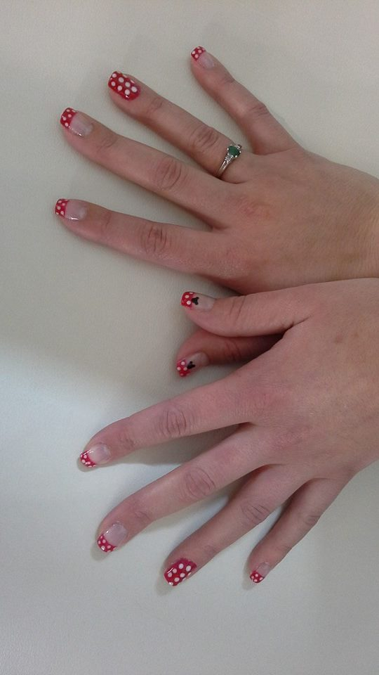 manicure minnie mouse